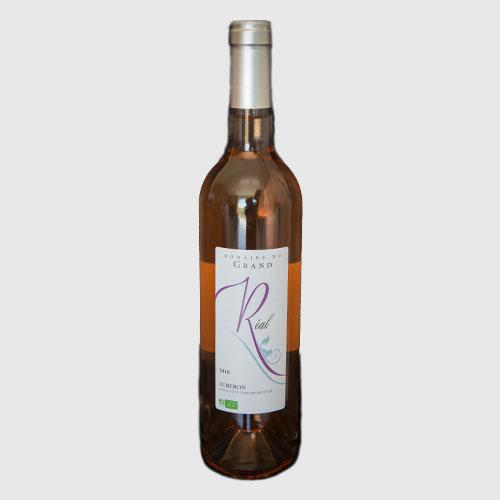 vin rosé bourguette