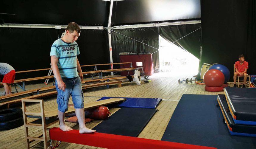 FAM Les Capelières: activités cirque