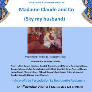 Soirée théâtrale «Madame Claude and Co»