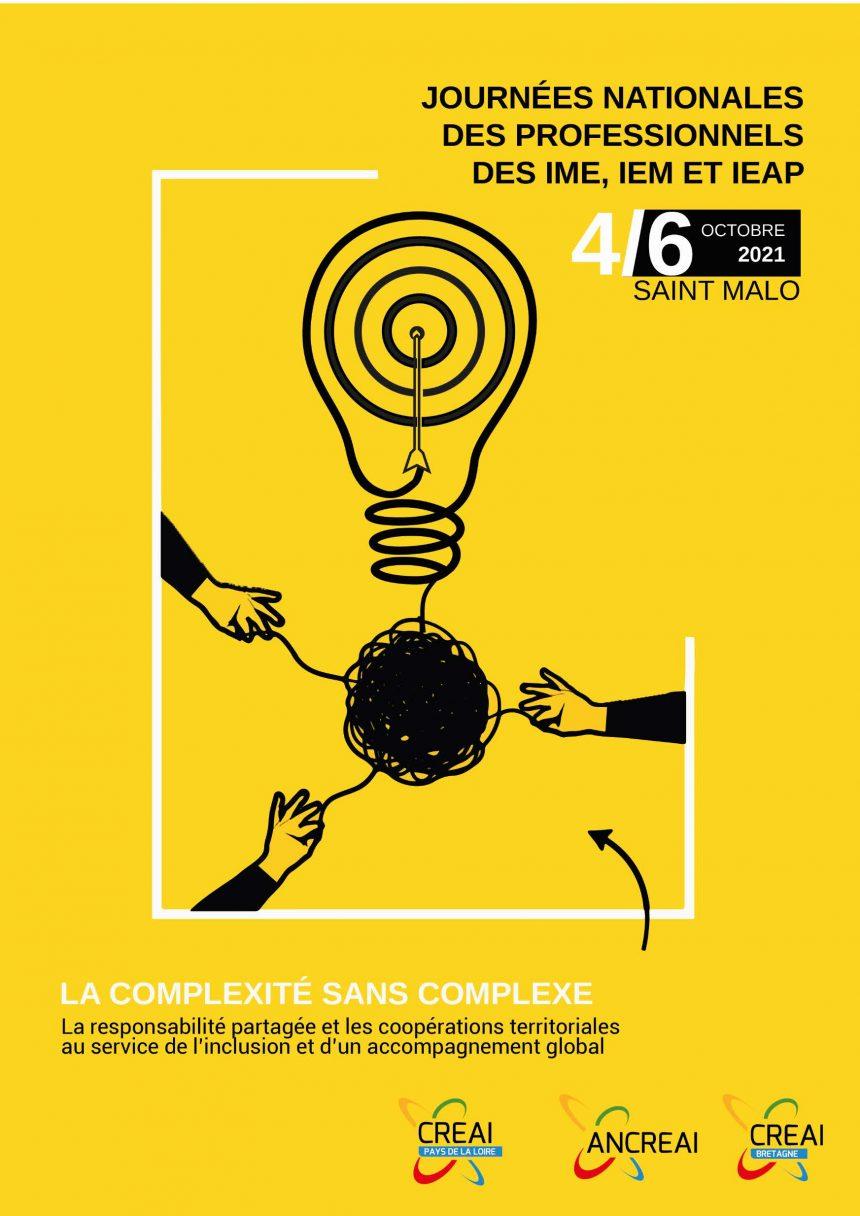 Journées Nationales des IME, IEM et IEAP par le CREAI et l'ANCREAI